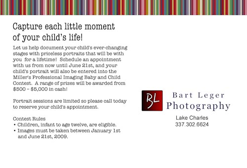 Baby & Child Photo Contest